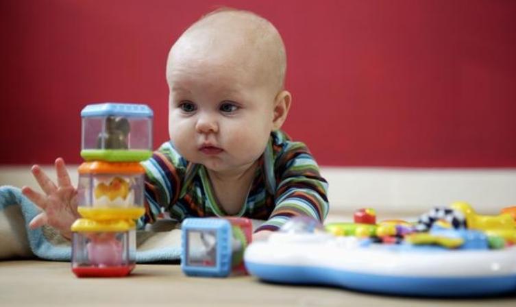 五个月宝宝早教,认知动作能力的培养1