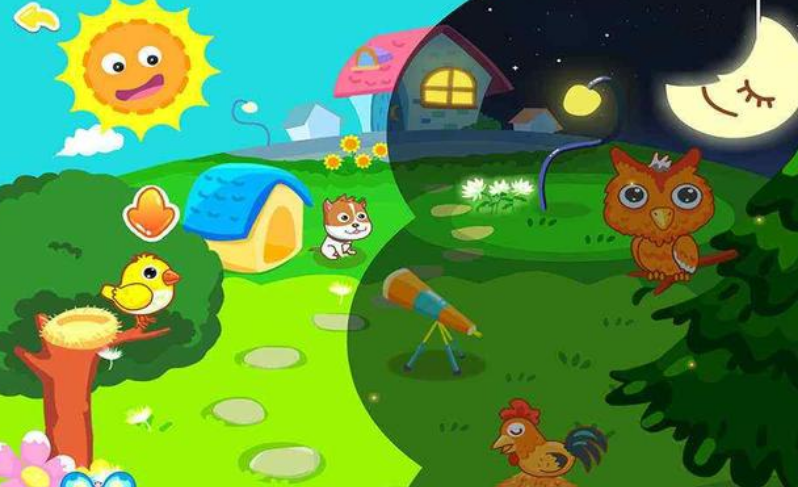 4-5个月宝宝早教,开发智力小游戏1