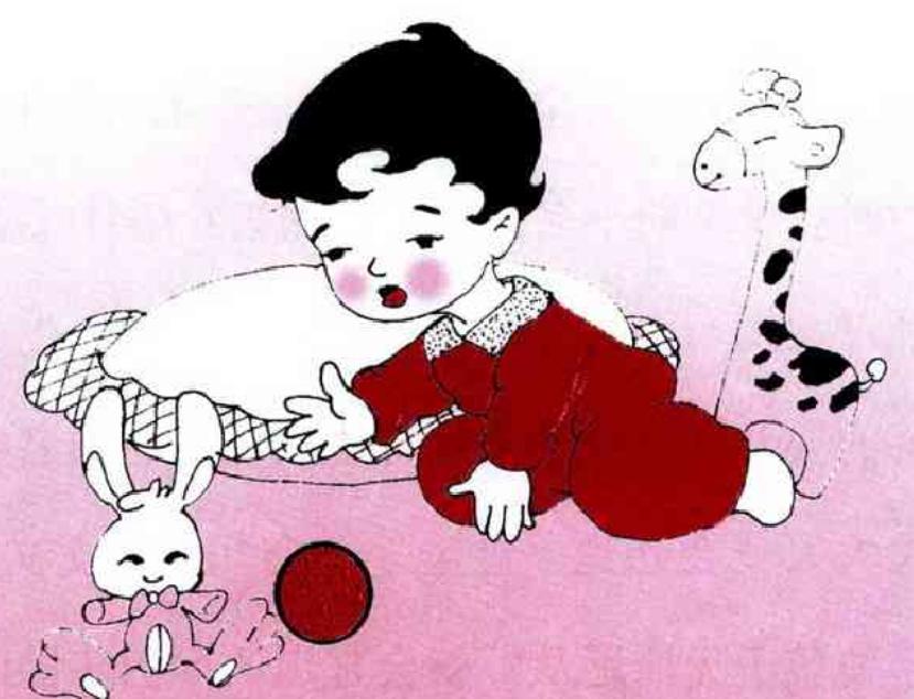 5月龄宝宝早教方法和亲子游戏1